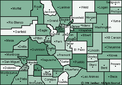 Delta County Colorado Map.Counties Colorado Counties Inc Cci